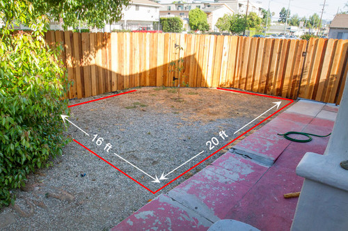 Tips for excavating dirt gravel from yard for How much does it cost to landscape a front yard