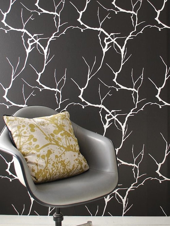Ferm Living Branch Wallpaper - Ferm Living's Wallpaper is graphic & whimsical adding character, charm and personality to any room. Wallpaper has a striking effect and will without a doubt turn your room into a sanctuary.
