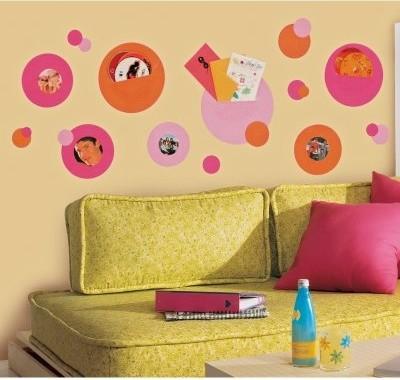 Wallpockets Pink Peel & Stick modern-nursery-decor