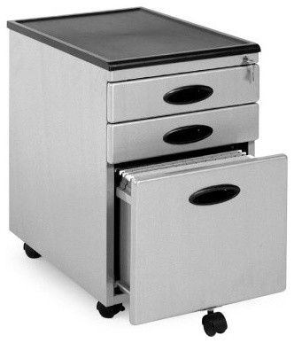 Power Center Mobile 3-Drawer Vertical Filing Cabinet - Modern - Home Office Accessories - by ...