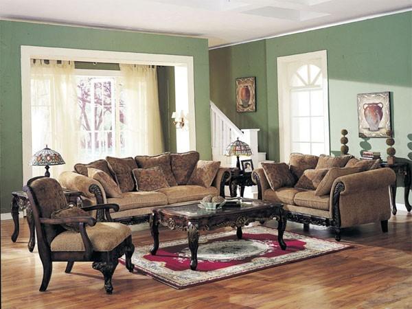 Acme Furniture Bordeaux 3 Piece Sofa Set 5600 3set