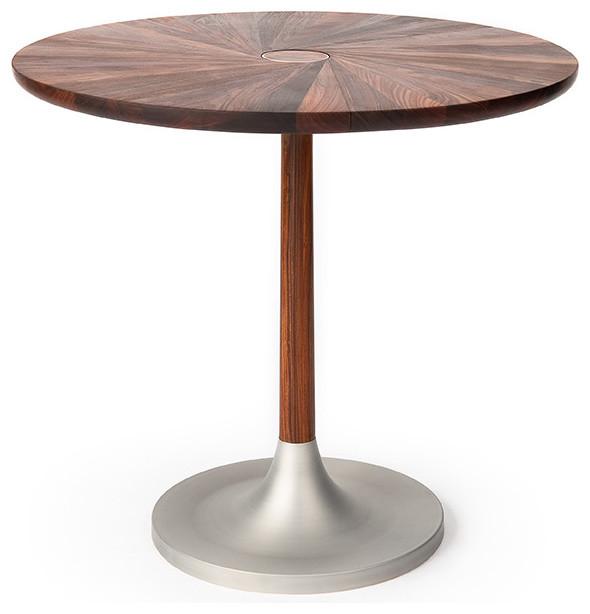 bruklyn card table  modern  furniture  new york