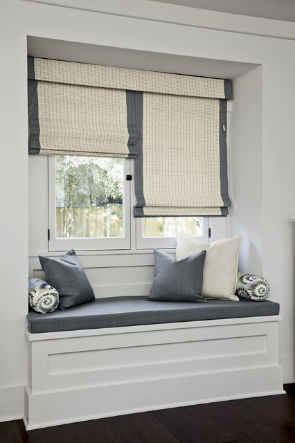 Smith and noble natural woven flat fold shades for Smith and noble bamboo shades