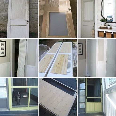 3 Awesome DIY Door Transformations The Lettered Cottage, Vintage Simple, Just Be