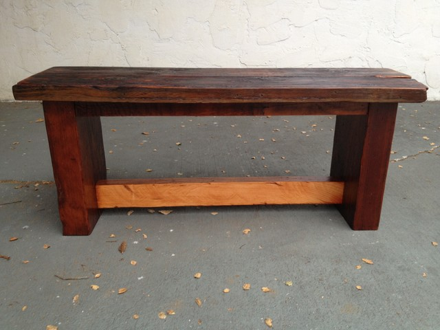 Dining Table Bench Reclaimed Wood