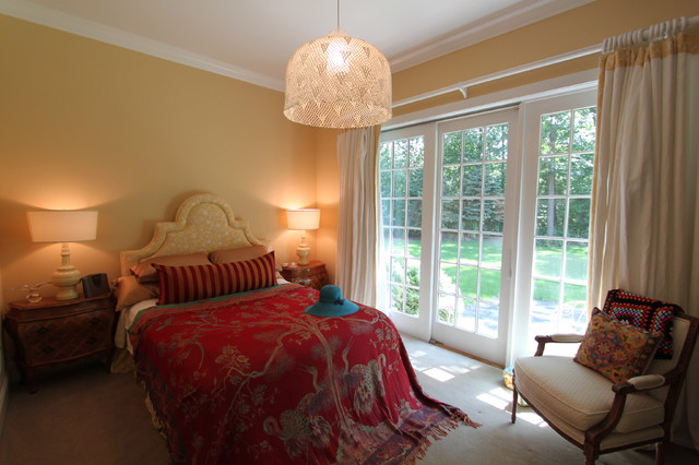 Lake Forest traditional-bedroom