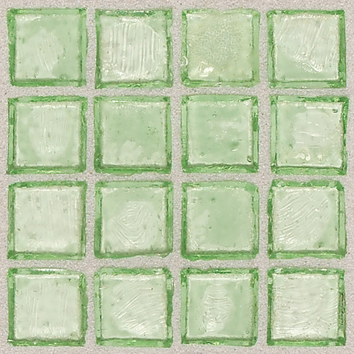 Palm Egyptian Glass Tile contemporary tile