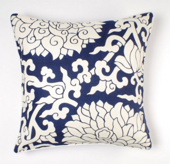 Thomas Paul Blossom Linen Pillow eclectic pillows