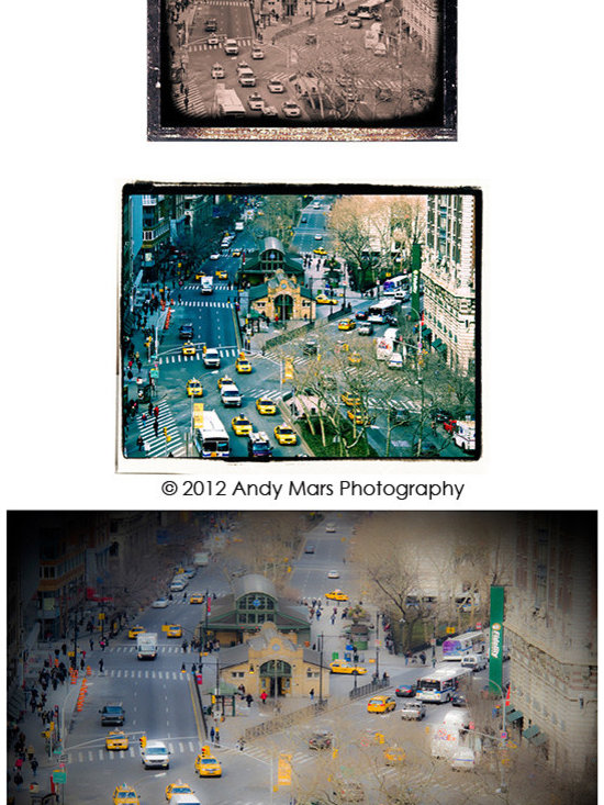 West 72nd Street Collage - West 72nd Street Collage - Tryptics © Andy Mars Photography