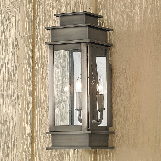 Small Rectangular Step Outdoor Light - Outdoor Wall Lights And Sconces - by Shades of Light