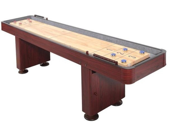 9' Shuffleboard Table - Dark Cherry - -Also Available in 12' Model