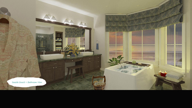 Seaside Master Suite asian