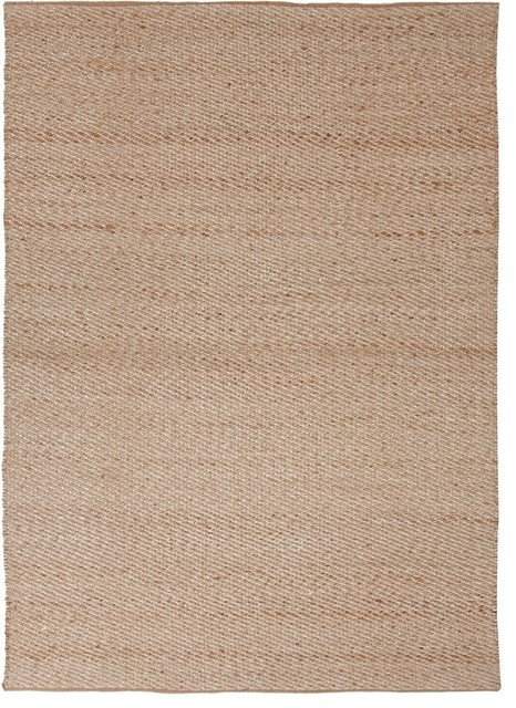 "Natural Fiber Himalaya 3'6""x5'6"" Rectangle Cream-Cream Area Rug contemporary-rugs"