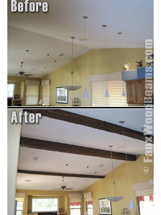 Faux Timber Beams -