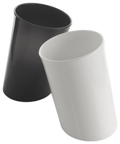 In attesa wastebasket by danese milano modern waste baskets by lumens - Modern wastebasket ...