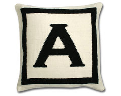 Jonathan Adler Letter Pillow eclectic pillows