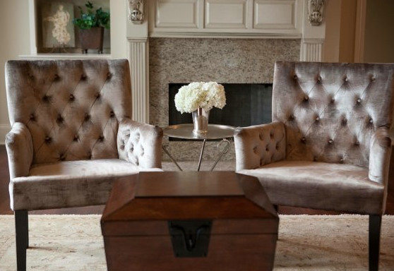 Baton Rouge Parade of Homes - Living Room modern-living-room