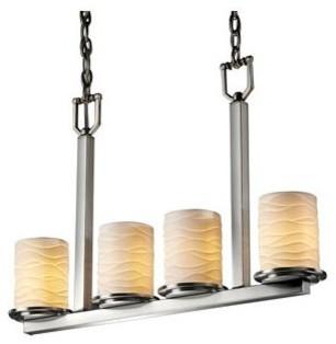 Limoges Dakota Linear Suspension by Justice Design Group modern-table-lamps
