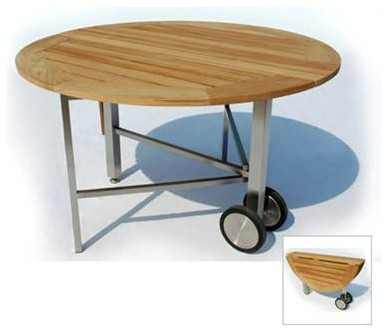 Petra Folding Table contemporary-outdoor-tables
