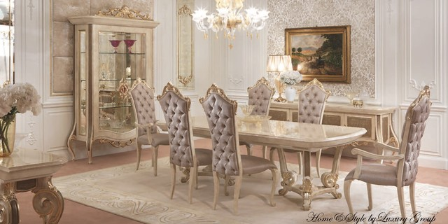 Luxury Furniture Collection Traditional Dining Tables
