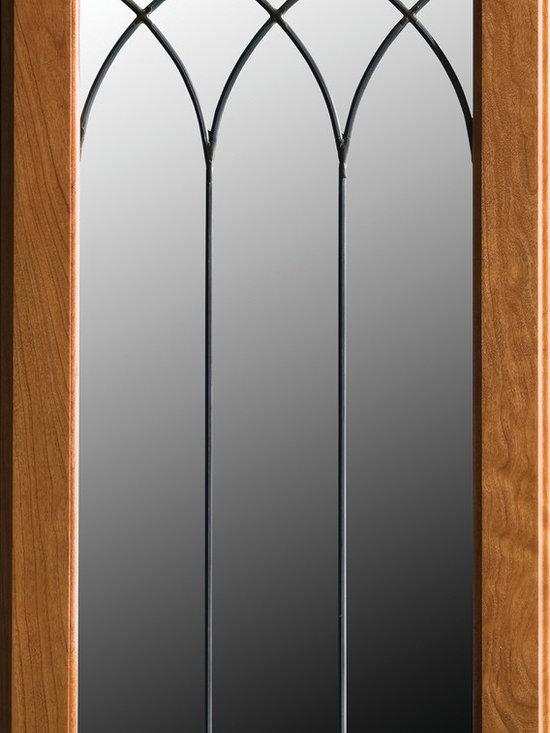 "Dura Supreme Cabinetry - Dura Supreme Cabinetry LG-50 Leaded Glass Cabinet Door. - Dura Supreme Cabinetry ""LG-50"" Leaded Glass Cabinet Door."