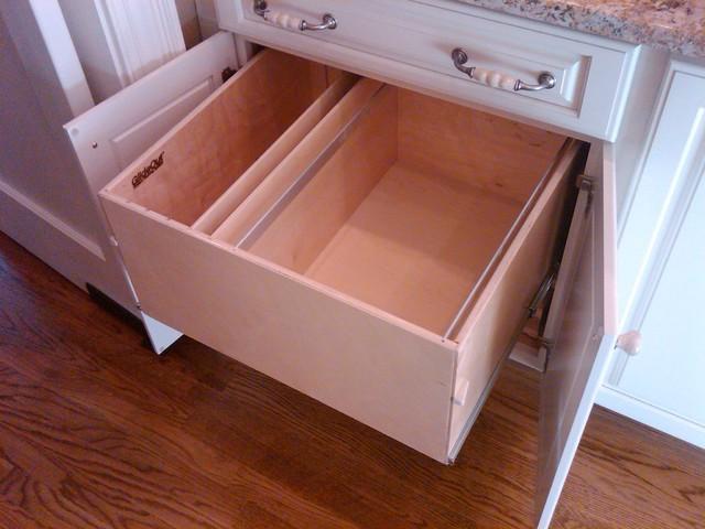 Pull Out File Box - Filing Cabinets - boston - by ShelfGenie of Massachusetts