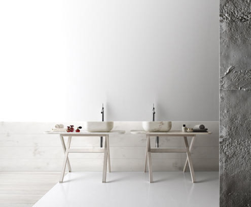 Kreoo by Decormarmi contemporary bathroom vanities and sink consoles