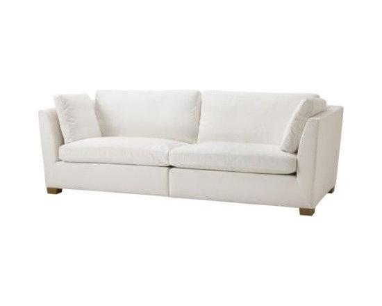 Niels Gammelgaard - IKEA STOCKHOLM 3 1/2 seat sofa - 3 1/2 seat sofa, Röstånga white