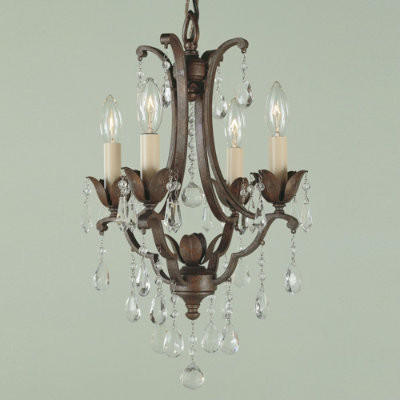 Verdi Four-Light Petite Chandelier traditional chandeliers
