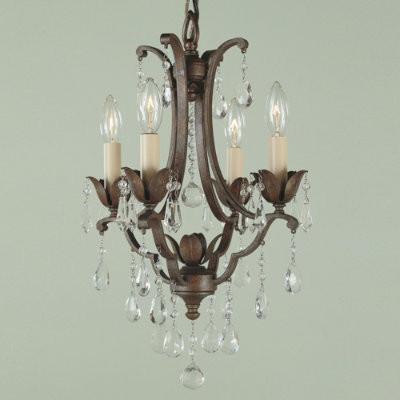 Verdi Four-Light Petite Chandelier traditional-chandeliers