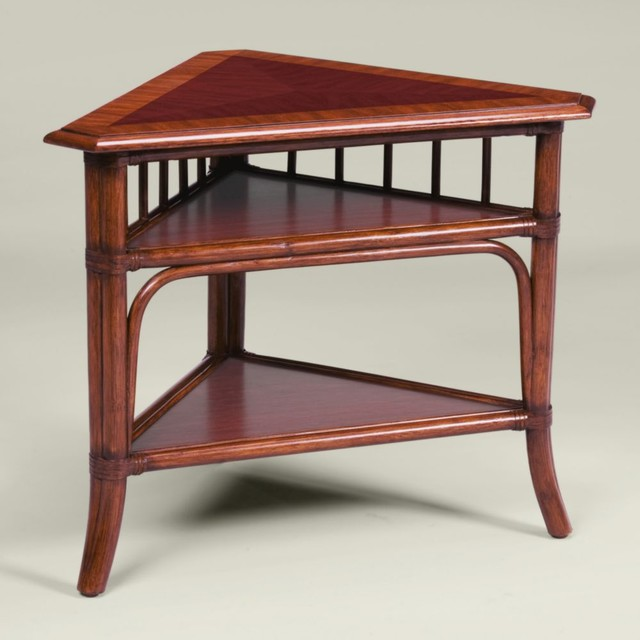 collectoru0026#39;s classics shelby corner table - Traditional - Side Tables And End Tables - by Ethan Allen