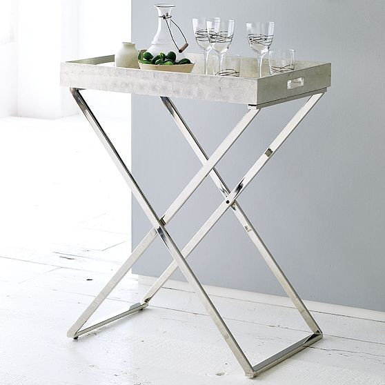 Butler Trays + Stands | west elm side-tables-and-accent-tables