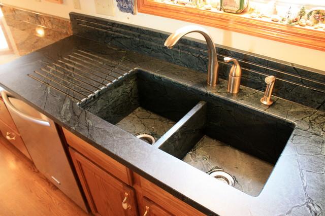 Soapstone Farmhouse Sinks : Soapstone sinks traditional kitchen cincinnati