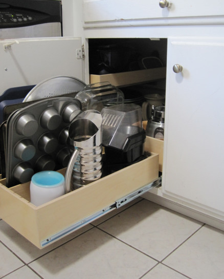 Blind Corner Solutions - Kitchen Drawer Organizers - other metro - by ShelfGenie of Seattle