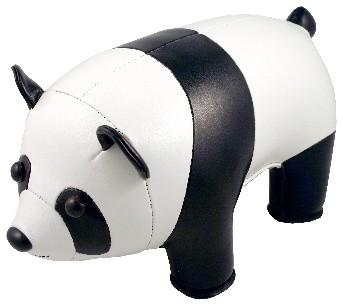 Animal Bookend, Panda Bear contemporary-bookends
