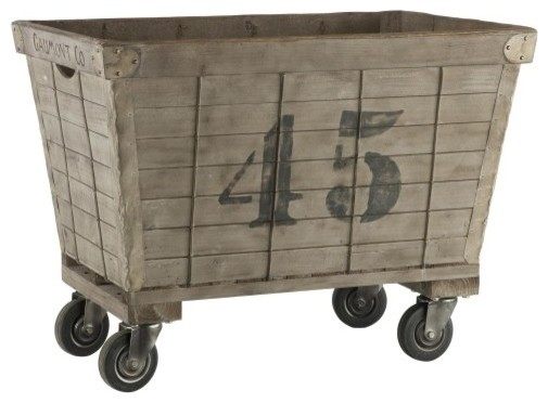 French Laundry Cart Rustic Hampers By Indeed Decor