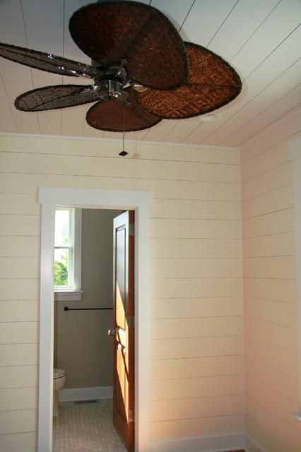 Coastal Fan In Guest Bedroom Transitional Ceiling Fans