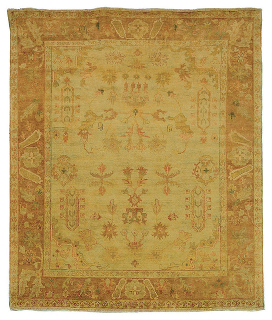 Oushak Colfax Wool Area Rug traditional-rugs