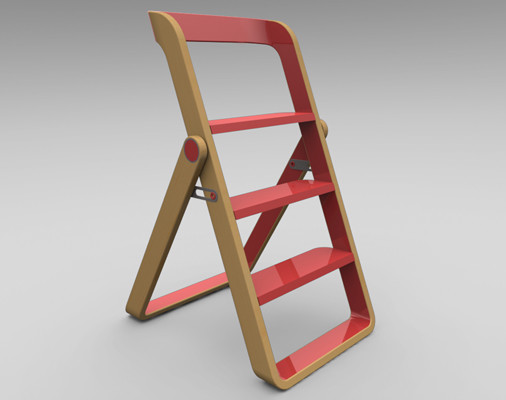 Step modern ladders and step stools