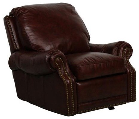 Barcalounger Presidential II Power Recliner - Coffee traditional-accent-chairs