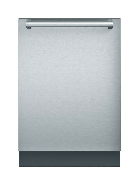Thermador Topaz Series Fully Integrated Dishwasher, Stainless Steel | DWHD640JFP - The new Thermador Dishwasher Collection of dishwashers delivers powerful performance with absolutely unparalleled flexibility. Our Emerald Dishwasher will compelement any Thermador kitchen.