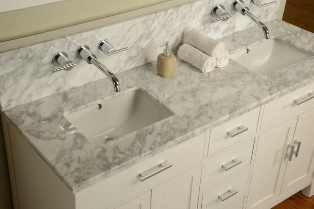 J Amp J International Double Sink Vanities Traditional