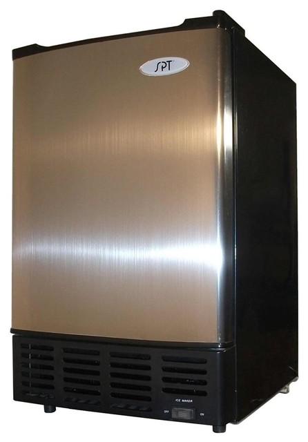 Undercounter Ice Maker w Stainless Steel Door - Contemporary - Refrigerators - by ivgStores