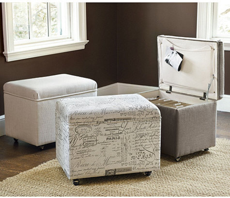 File Storage Ottoman Traditional Desk Accessories By