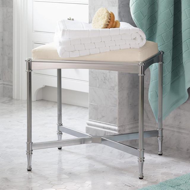 Belmont Vanity Stool traditional-bathroom-stools