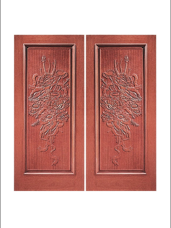 Carved and Mansion Entry Doors Model #  5 -