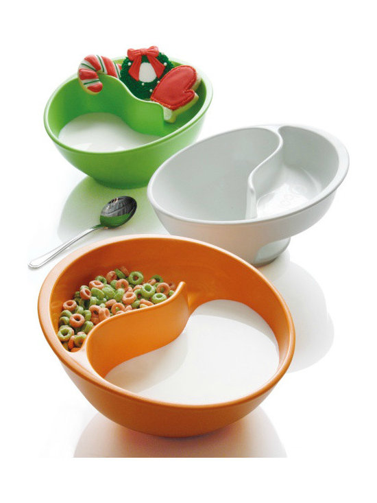 Brookstone® Obol® The Never-Soggy Cereal Bowl -