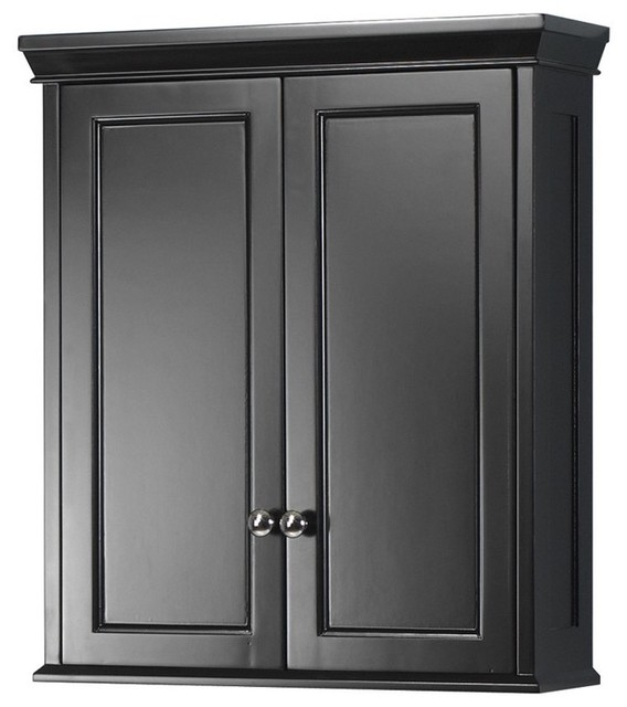 Foremost TREW2428 Haven Wall Cabinet in Espresso - Traditional - Bathroom Cabinets And Shelves ...