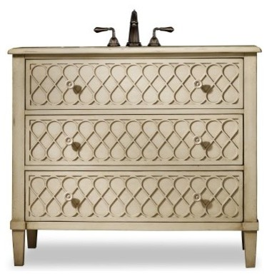 Cole + Co. Designer Series Mallory Single Bathroom Vanity traditional bathroom vanities and sink consoles