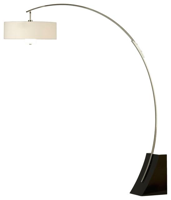 nova lighting 2110060 broadway arc lamp modern floor lamps by. Black Bedroom Furniture Sets. Home Design Ideas